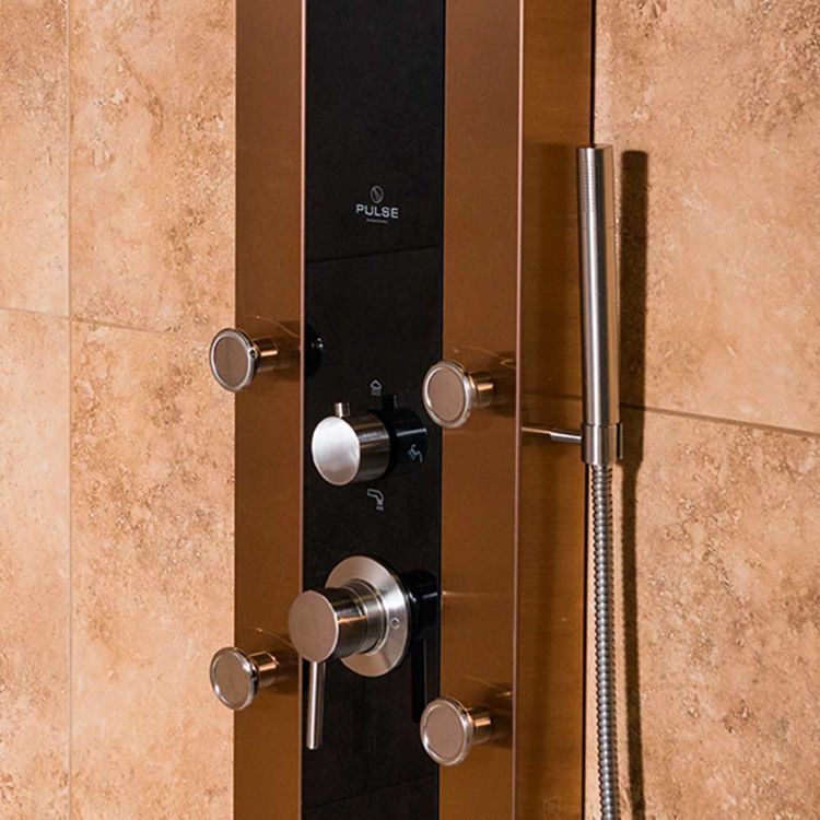 View 3 of Pulse 1049B-BN Pulse 1049B-BN Rio ShowerSpa Shower System, Brushed Nickel Finish