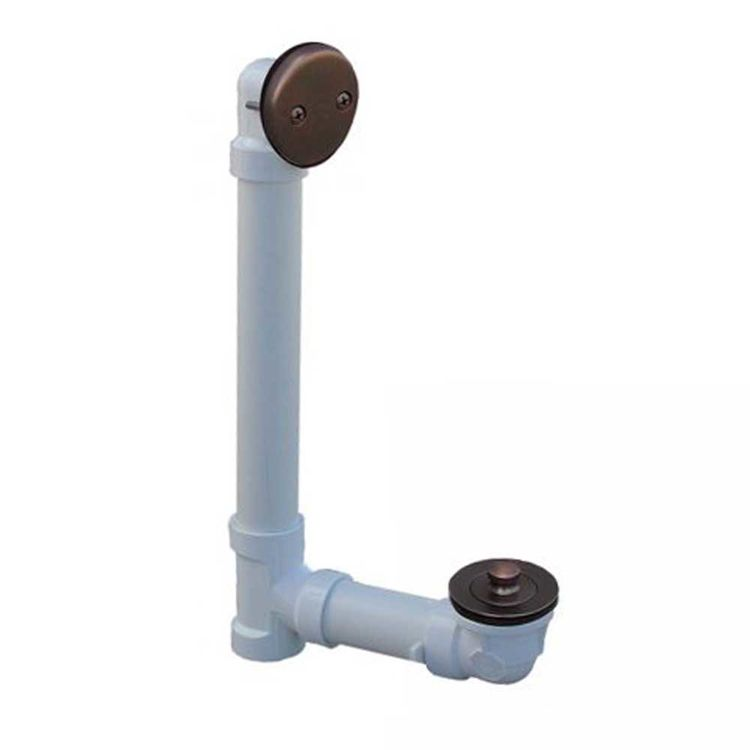 View 3 of Jones Stephens B0713RB Jones Stephens B0713RB Oil Rubbed Bronze Lift Turn Waste & Overflow Kit Pvc