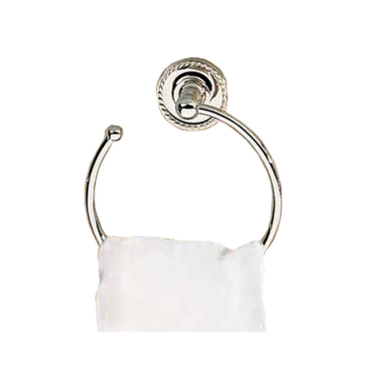 Ginger 1521/PC Ginger 1521/PC Open Towel Ring  Polished Chrome
