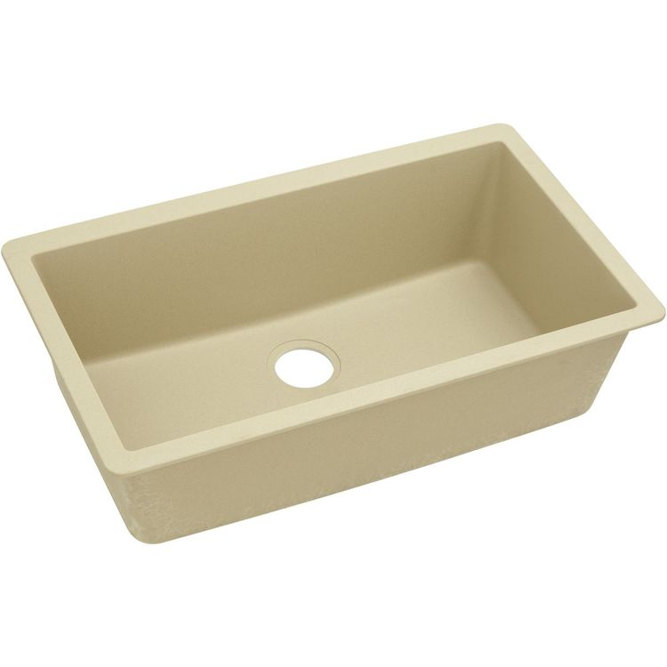 View 9 of Elkay ELGRU13322SD0 Elkay ELGRU13322SD0 Quartz Classic Single Bowl Undermount Sink, Sand