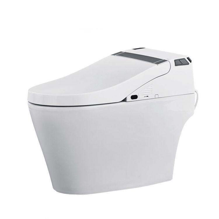 View 3 of ProStock PSBTWE1000 ProStock PSBTWE1000 Electronic Bidet w/ Integrated Elongated Toilet - White