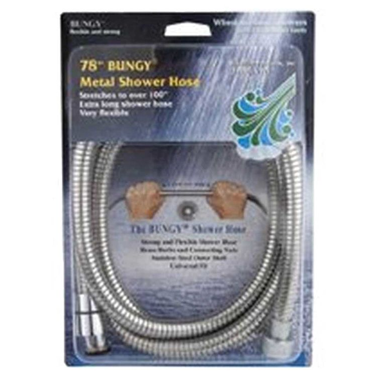 View 2 of Whedon AF206C Whedon AF206C Bungy Metal Stretch Shower Hose, For Use With Hand Shower Brackets, 78 - 100 in