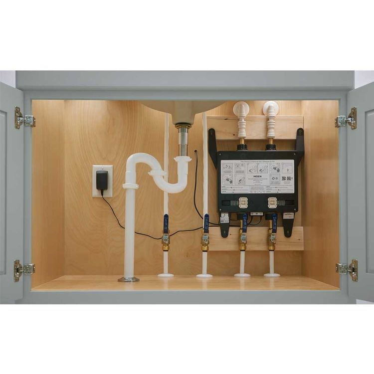 View 7 of Moen S3102 Moen S3102 Two Outlet Electronic Rough-in Valve - U by Moen