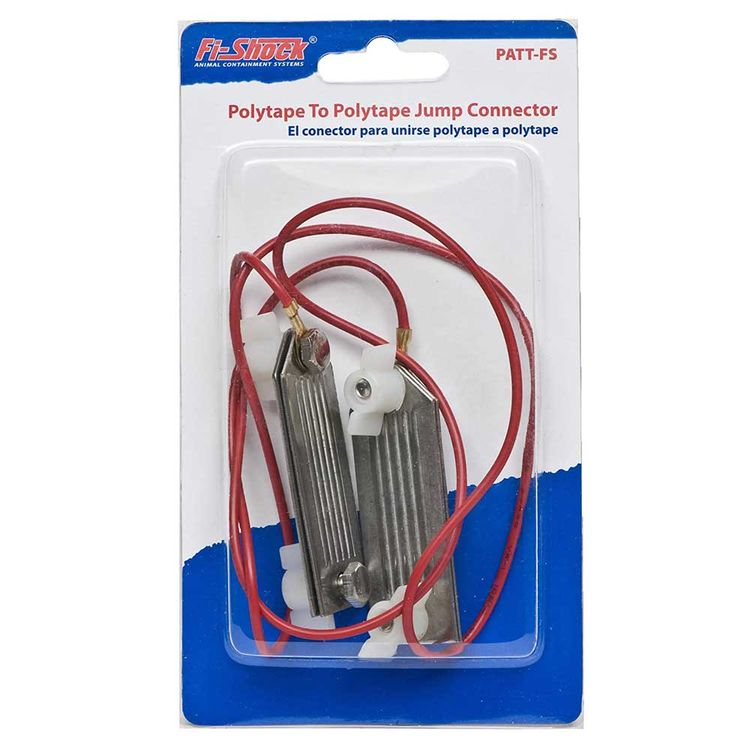 Fi-Shock PATT-FS Fi-Shock PATT-FS Polytape To Polytape Connector, For Use With Electric Fence
