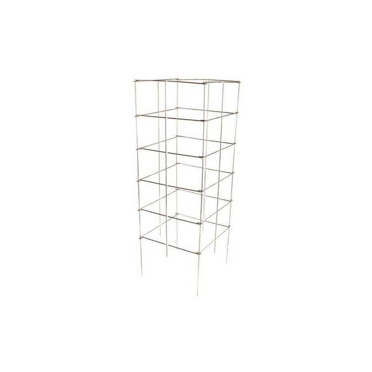 Glamos 742272 Glamos Wire 742272 Heavy Duty Square Plant Support, 6 ft L, Galvanized