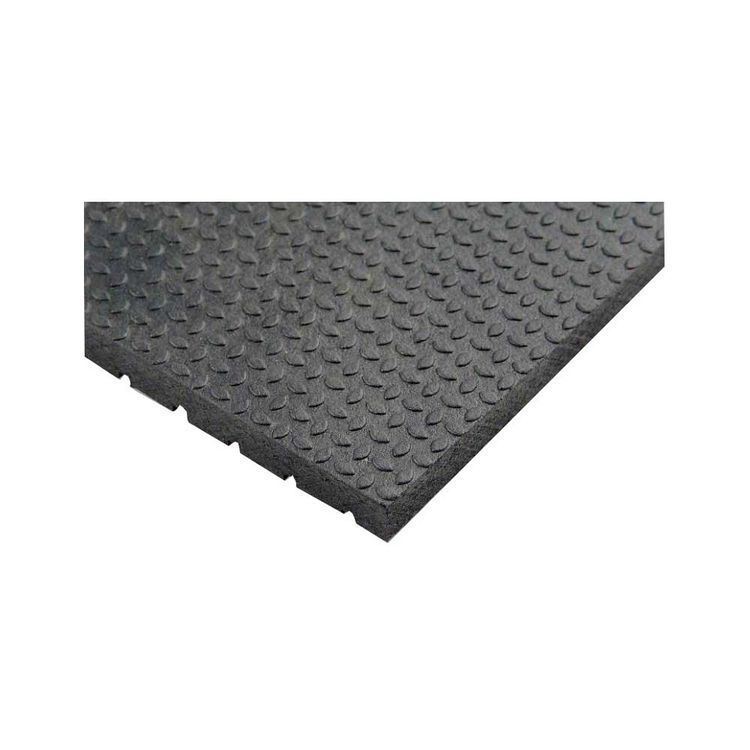 View 2 of Qrri ASM4872-DR3/4 Quality Rubber Resource ASM4872-DR3/4 Rubberstall Mat, 72 in L X 48 in W X 3/4 in T, Rubber