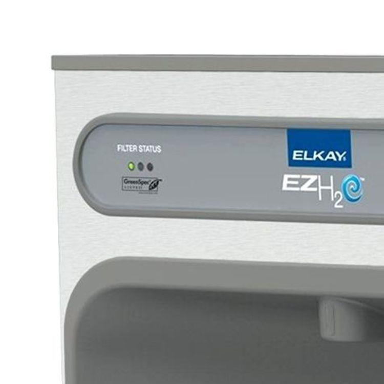 View 4 of Elkay LZWSM8K Elkay LZWSM8K ezH2O In-Wall Bottle Filling Station - 8 GPH, Filtered, Stainless