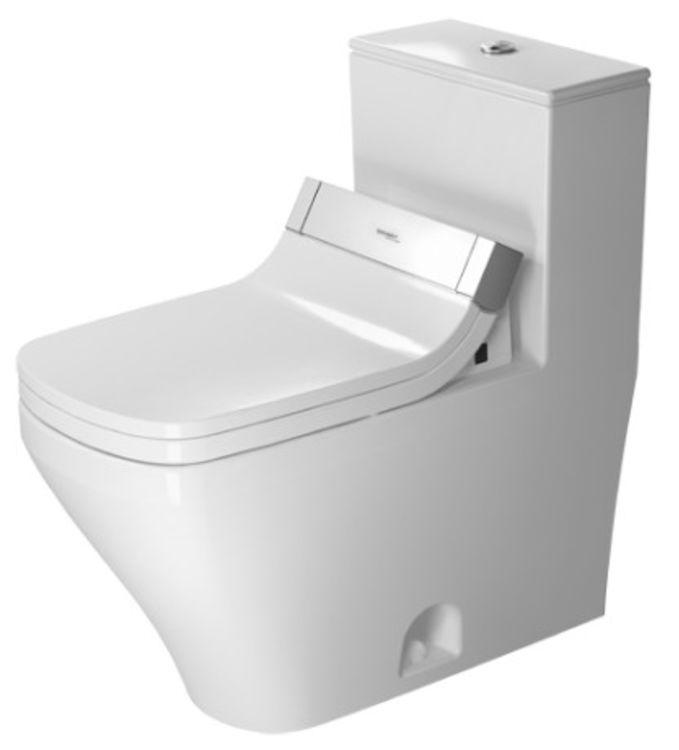 Duravit 21575100051 Duravit 21575100051 DuraStyle Single Flush/Dual Flush One-Piece Floor Mounted Elongated Toilet - White