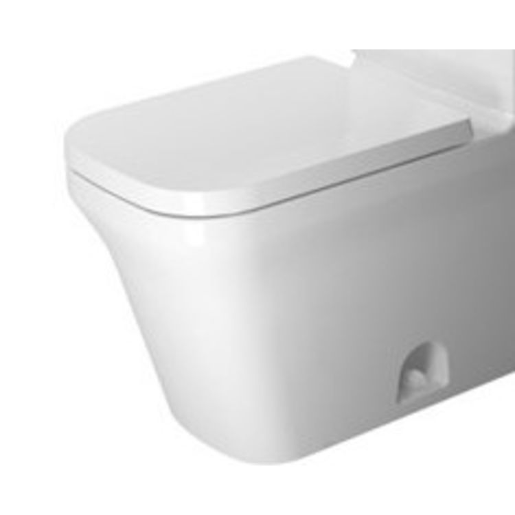 Duravit 21680100851 Duravit 21680100851 P3 Comforts Single Flush/Dual Flush Two-Piece Floor Mounted Elongated Toilet - White