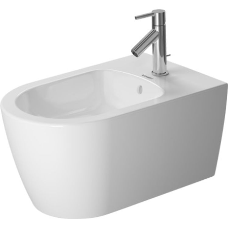 Duravit 22881500001 Duravit 22881500001 ME by Starck Single Hole Wall Mount Bidet in White Finish