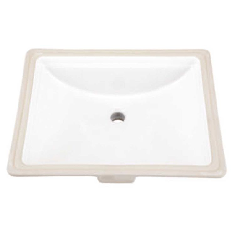 Gerber 12 760 Logan Square Standard Undercounter Bathroom Sink