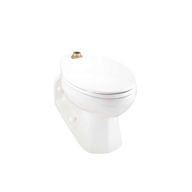 View 4 of Gerber 25-874 Gerber 25-874 North Point 1.6 gpf Elongated Top Spud Back Outlet Bowl