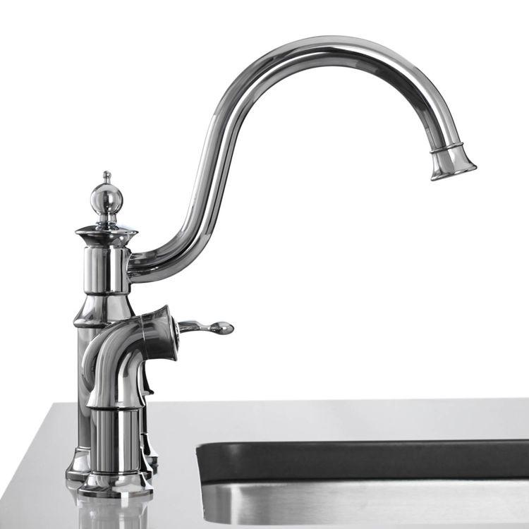 Moen S711 Waterhill Single Handle High Arc Kitchen Faucet Chrome
