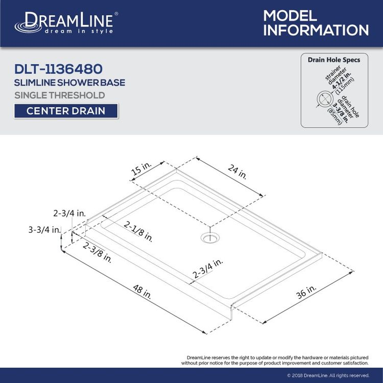 View 11 of Dreamline DL-6221C-01 DreamLine DL-6221C-01 Flex 36