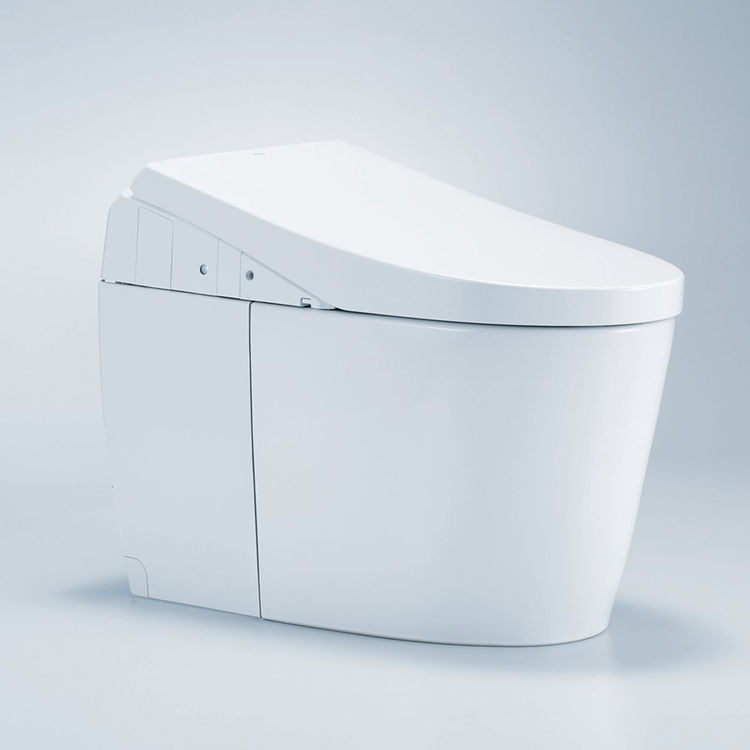 View 13 of Toto MS989CUMFG#01 TOTO MS989CUMFG#01NEOREST AH One-Piece Elongated Toilet w/ Washlet - Cotton White