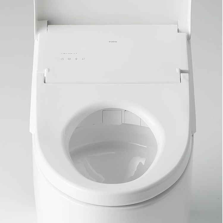 View 7 of Toto MS989CUMFG#01 TOTO MS989CUMFG#01NEOREST AH One-Piece Elongated Toilet w/ Washlet - Cotton White