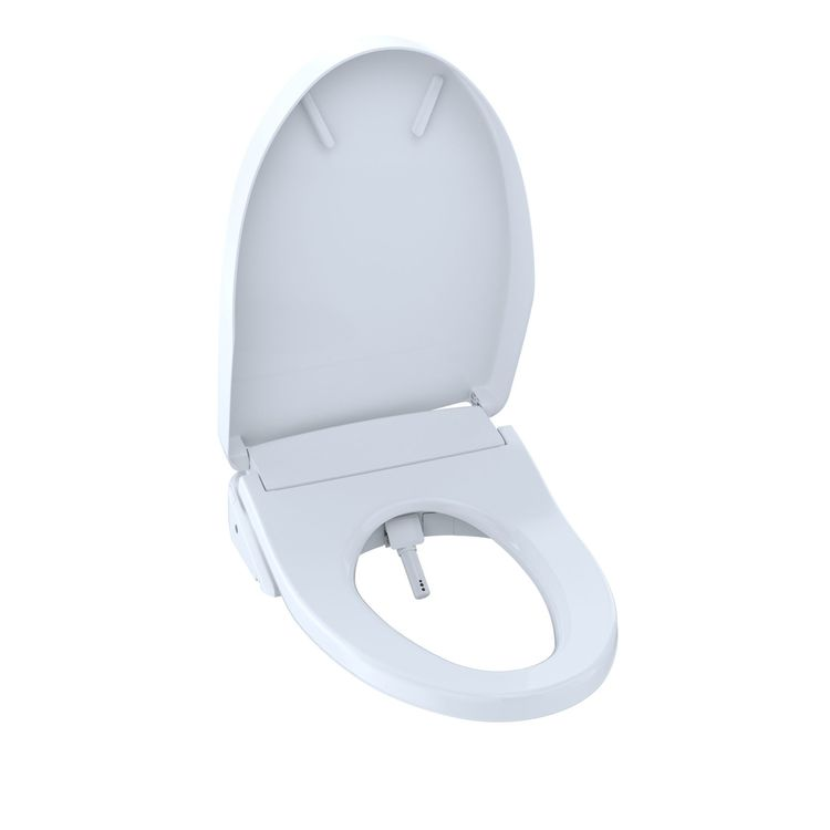 View 3 of Toto SW3046AT40#01 TOTO S500e WASHLET+ and Auto Flush Ready Electronic Bidet Toilet Seat with EWATER+and Contemporary Lid, Elongated, Cotton White - SW3046AT40#01