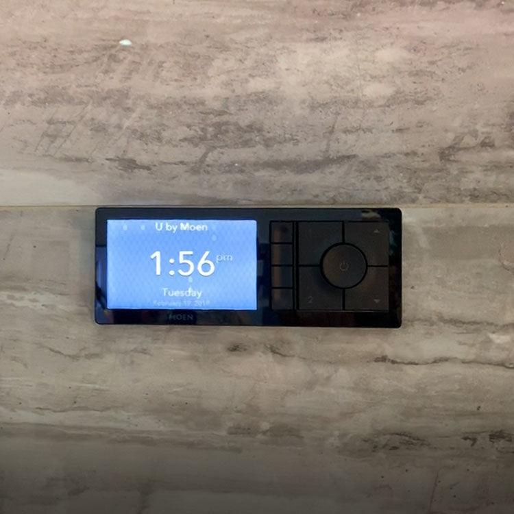 View 5 of Moen TS3304BL Moen TS3304BL U By Moen Digital Shower Controller - Matte Black