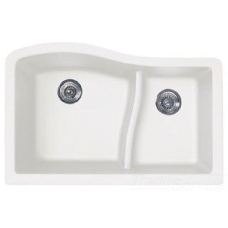 Swanstone Quls 3322 075 Bianca 33 X22 Undermount Kitchen Sink
