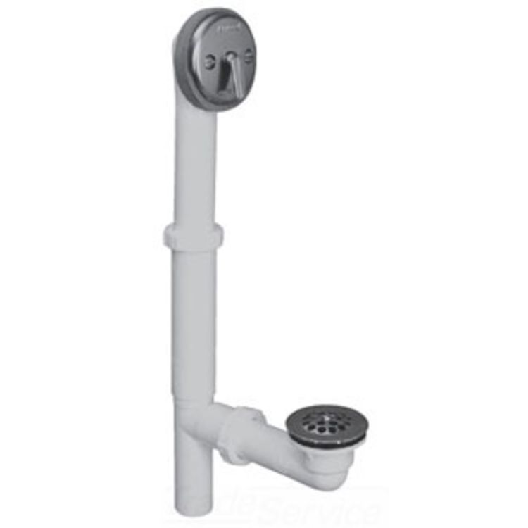 Watco 550 Tl Pvc Bn Trip Lever Bath Waste Brushed Nickel
