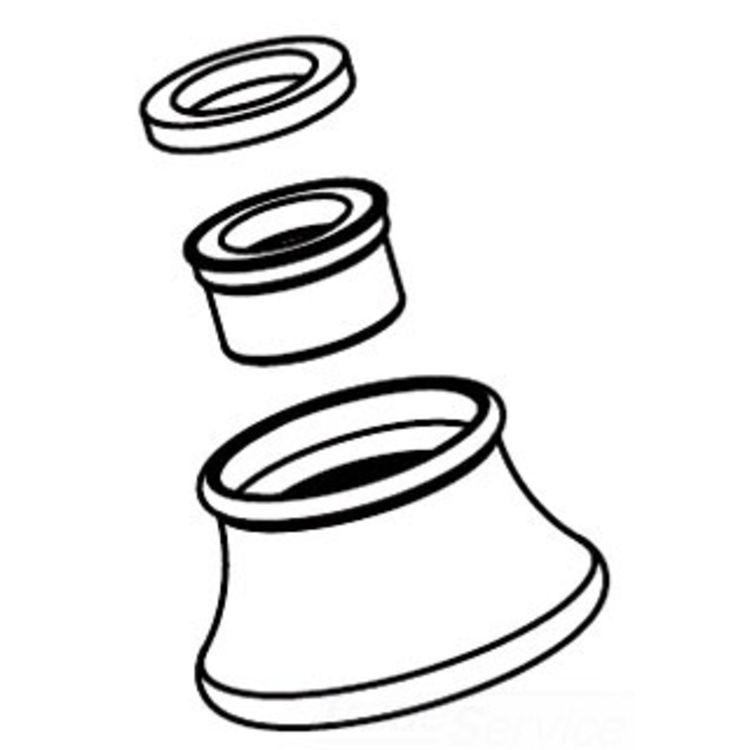 Moen 116632BN Moen 116632BN Part Body Aerator Female Thread Roman Tub