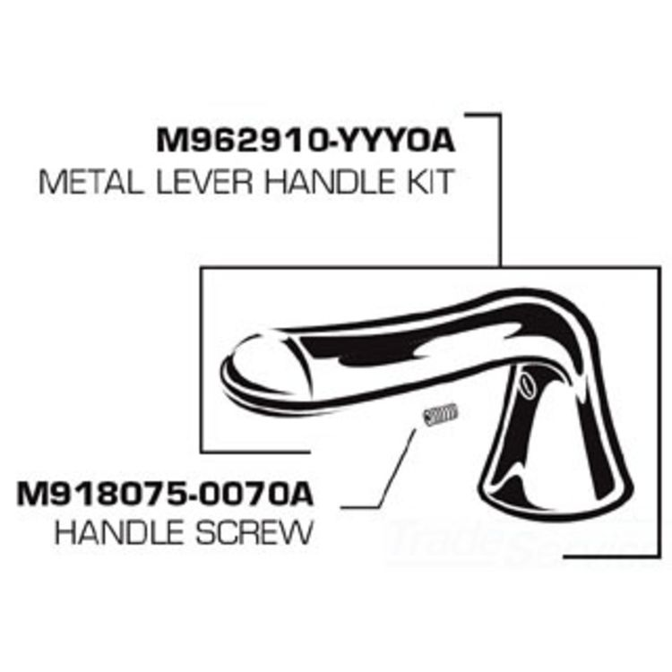 American Standard M962910-0020A AS M962910-0020A HANDLE FOR SOFT COLONY