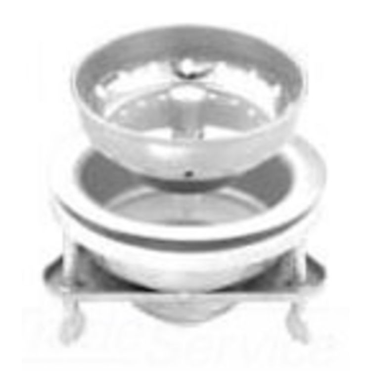 Commodity  Stainless Steel Kitchen Sink Strainer with Wing Nuts