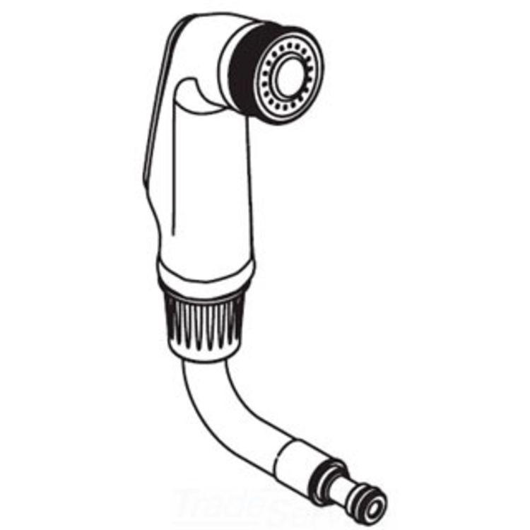 Moen 141006 Moen 141006 Part Side Spray & Hose Assembly Chrome
