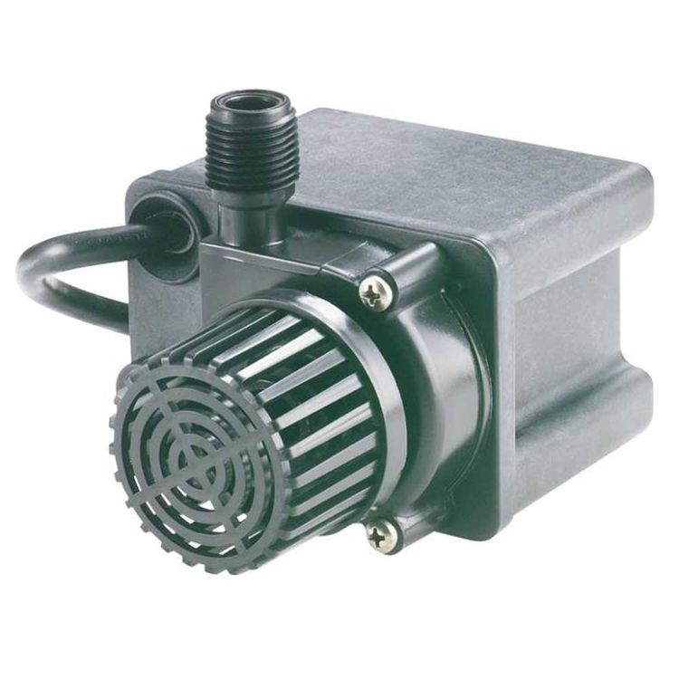 Little giant 566612 direct drive pond pump 475 gph 80 w for Pond pumps direct