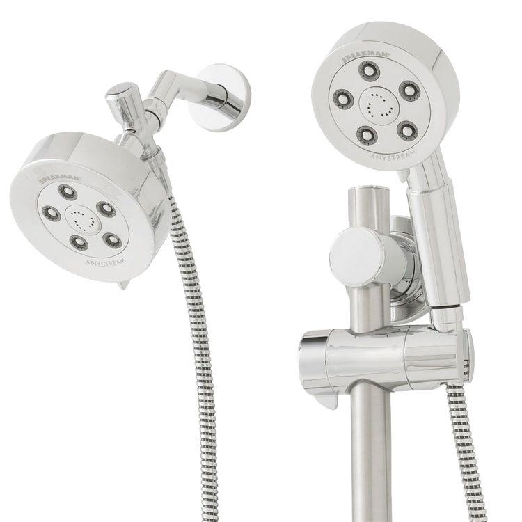 speakman vs 123010 neo hand shower with shower head chrome. Black Bedroom Furniture Sets. Home Design Ideas