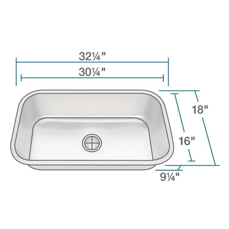 Rene By Elkay R1 1024c 16 Single Bowl Undermount Stainless