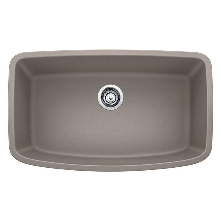 Blanco 441772 silgranit ii single bowl sink kitchen sink for Silgranit ii sinks
