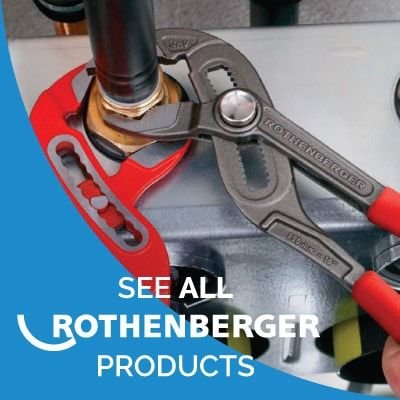 Rothenberger Is An Industry Leader In Pipe Tool Technologies Offering You Quality Tools For Both HVAC And Plumbing Applications Affordable Prices