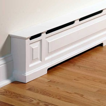 baseboard heater that looks like crown molding