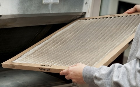 changing the furnace filter
