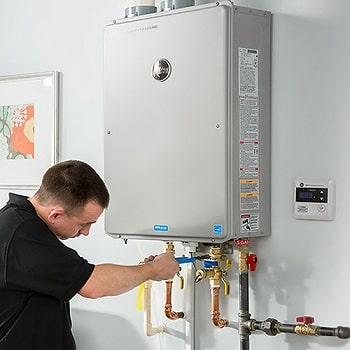 what is a tankless water heater installation