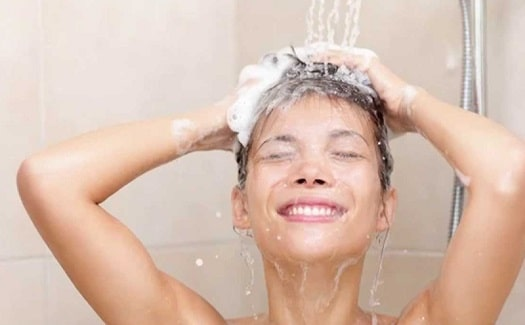 tankless water heaters creating a hot shower on demand