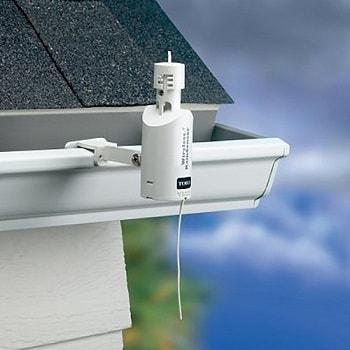 rain sensor mounted on roof