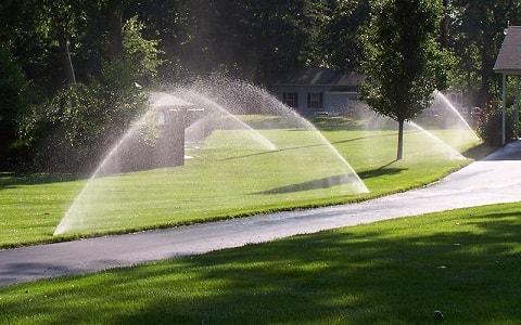 sprinkler zones give adequate coverage