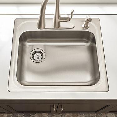 drop in sink installation