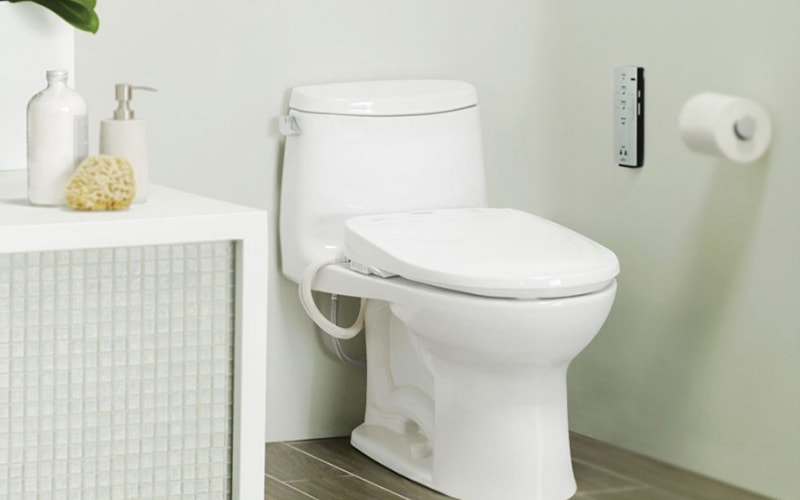 How to install a bidet seat video plumbersstock - Installation d un bidet ...
