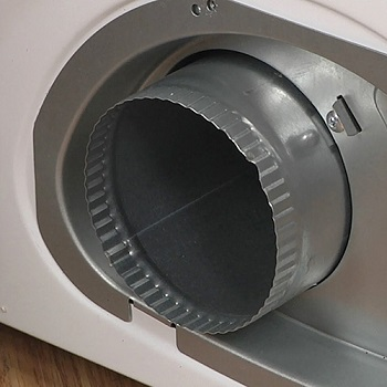 dryer duct connection