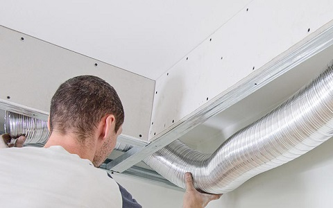 installing dryer duct