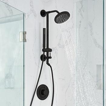 moen align shower faucet installed