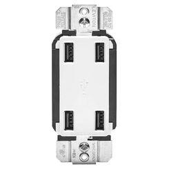 Leviton R02-USB4P-0BW