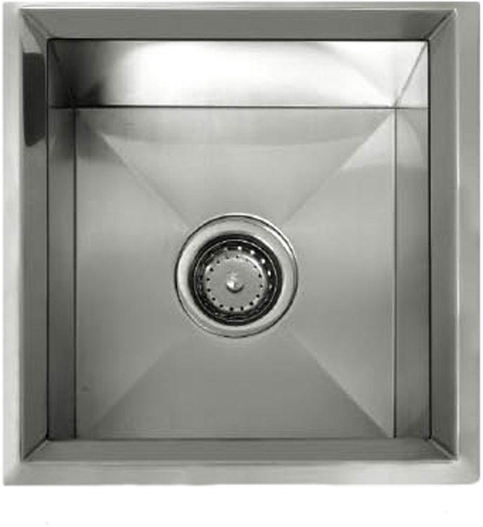 Lenova ss rim ss 15 x15 1 bowl undermount kitchen sink - Kitchen sink rim ...