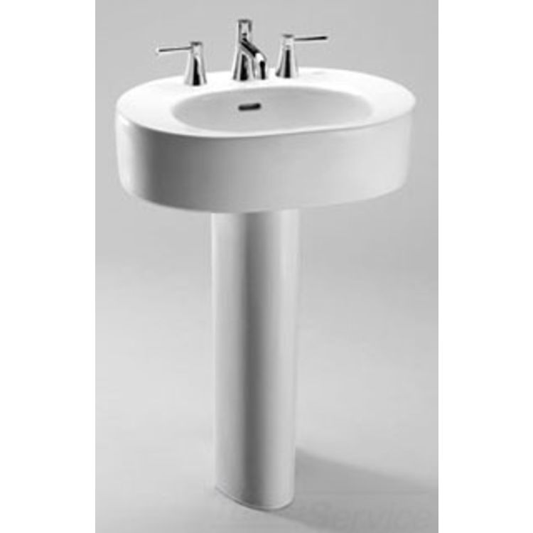 Toto Nexus Pedestal Sink.TOTO Nexus 24 In Pedestal Combo Bathroom ...