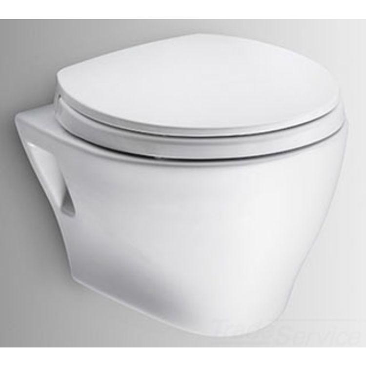 Toto Aquia Wall Hung Elongated Toilet And Duofit In Wall 0