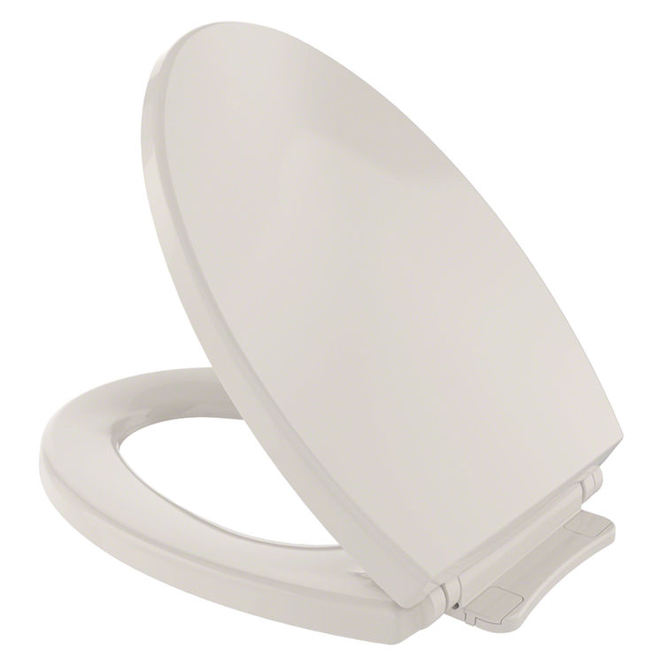 toto ss114 12 sedona beige softclose elongated toilet seat with cover. Black Bedroom Furniture Sets. Home Design Ideas