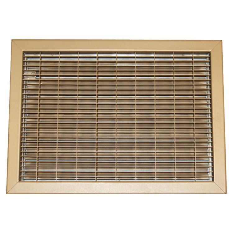 10x12 driftwood tan vent cover steel shoemaker 1550 series